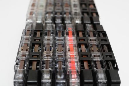 Cassette tapes, retro audio cassettes