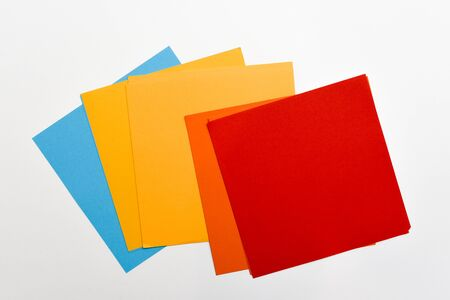 Origami paper for arts and craft making paper art models 写真素材