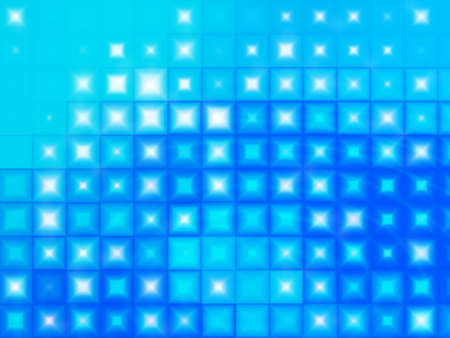 Ice blue squares and diamonds winter background