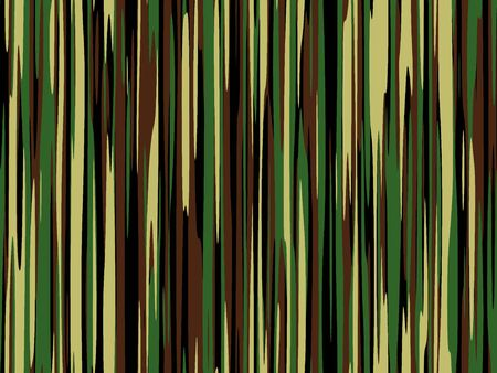 A sample of camouflage style pattern in shades of green and brown