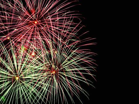 guy fawkes night: Fuochi d'artificio e copyspace