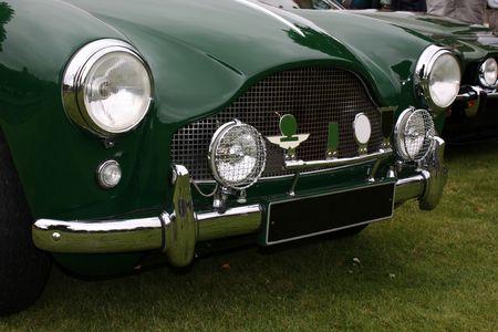 martin: Luxury car detail