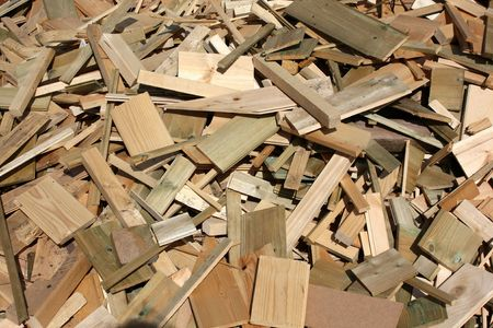 Wood offcuts for firewood