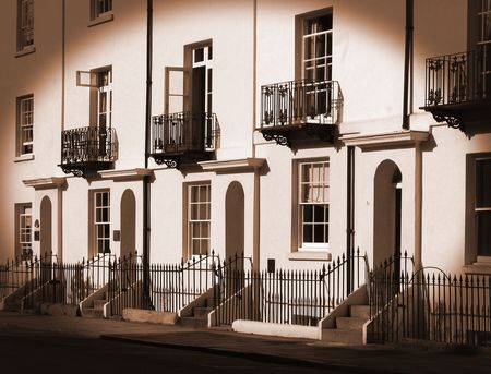 Sepia Georgian Terrace