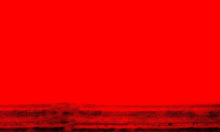 yuck: Very simple but bold red background wuth grunge stripe. This is actually a photo of a strip of some mould. Yuck!!