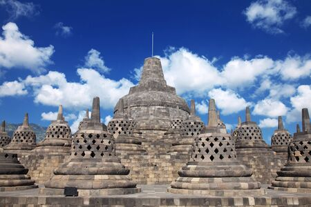 jogjakarta: Borobudur temple located close to Jogjakarta in Java Indonesia