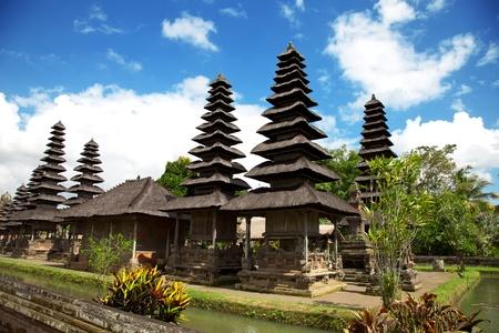 taman: Taman Ayun Royal Temple in Bali, Indonesia Stock Photo