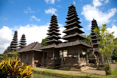 Taman Ayun Royal Temple in Bali, Indonesia Stock Photo