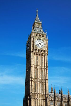 Big Ben at Westminster in London, United Kingdom photo