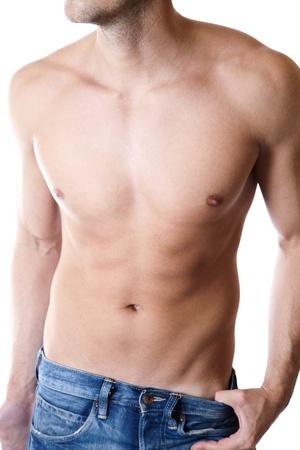 defined: Giovane uomo con un corpo definito