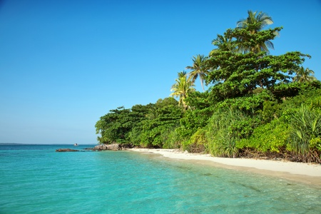 Stunnig remotel island in Karimunjawa, Indonesia