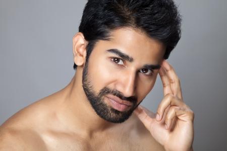 Beauty portrait of a handsome man