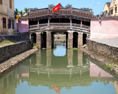 ponte giapponese: Ponte giapponese in Hoi An, Vietnam