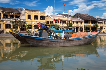 City of Hoi An in Vietnam photo