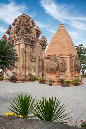 Po Ngar Cham Towers in Nha Trang, Vietnam photo