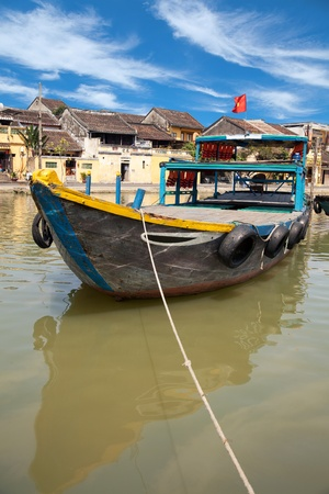 Old city of Hoi An in Vietnam photo