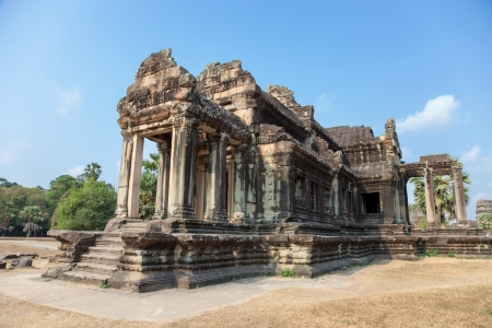 reap: Traditional Ancient temple in Angkor Cambodia