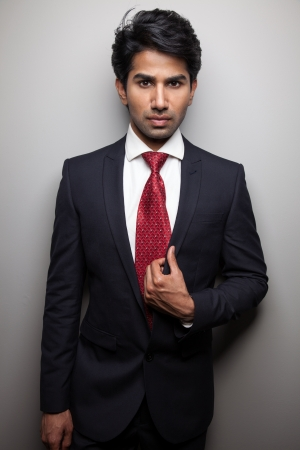 indian professional: Asian businessman dressed up for the occasion