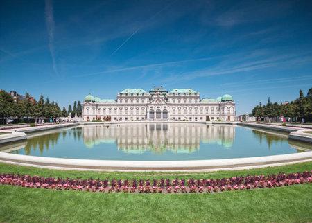 Belvedere castle in Vienna, Austria