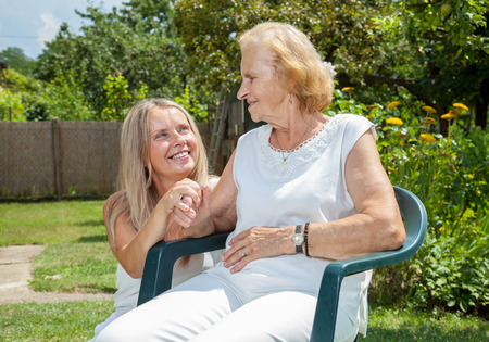 Providing care and support for elderly  photo