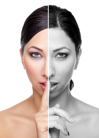 foundation problems: The secret to perfect and healthy skin Stock Photo
