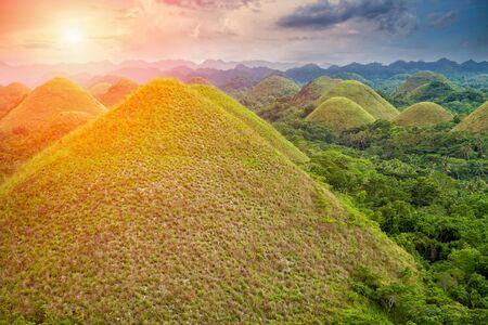 bohol: Beautiful scenery of Chocolate Hills in Bohol, Philippines
