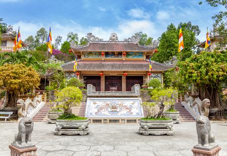 long: Long Son pagoda in Nha Trang, Vietnam
