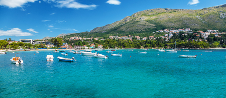 croatia: Coastal town Mliny located close to Dubrovnik in Croatia