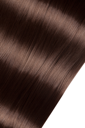 Closeup on luxurious straight glossy hair 版權商用圖片 - 118980319