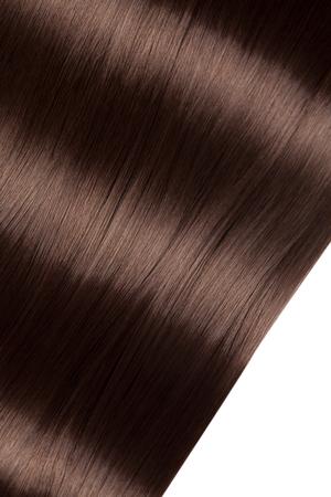 Zbliżenie na luksusowe, proste, błyszczące włosy