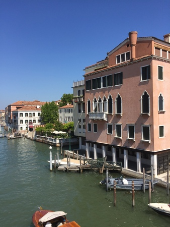 alte: Beautiful view in Venice (Venice, Italy)