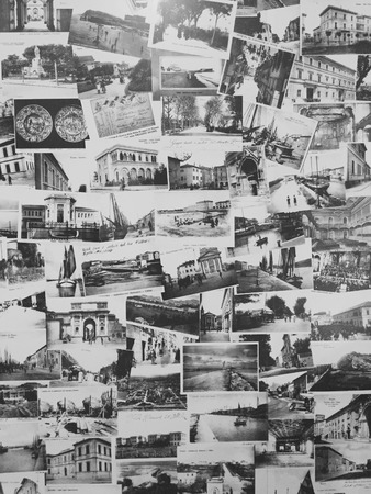 background textures: Postcard texture - Background - Vintege - Retro (Pesaro, Italy)
