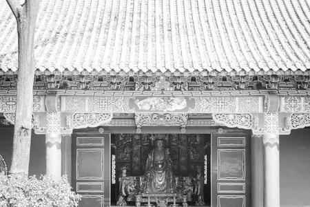Yuantong Temple facade (Kunming, Yunnan, China)