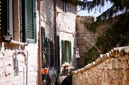 Italian architectural details in Spello (Umbria, Italy)