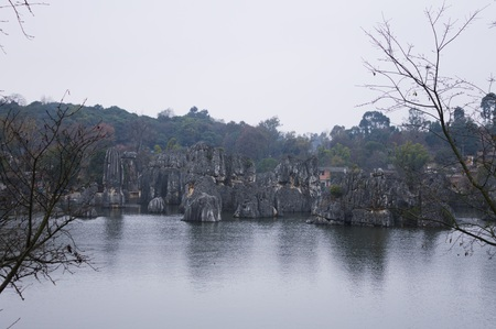 The Stone Forest - The first wonder of the world (Shilin, Yunnan, China)