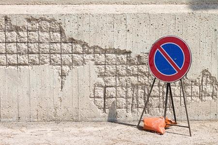 No parking - Work in progress (Pesaro, Italy, Europe)