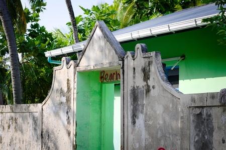 Entrance to the Beach (Ari Atoll, Maldives)