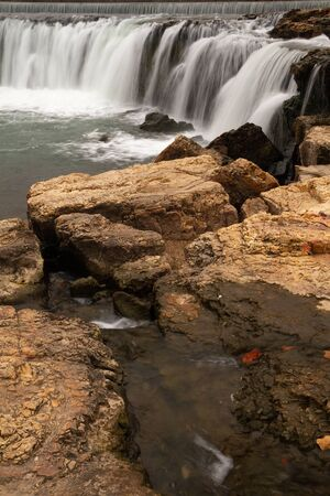 Grand Falls in Missouri is the widest waterfall.