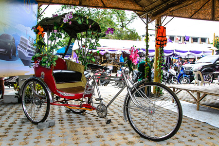tricycle: tricycle bike favorite sightseeing tour in bangkok