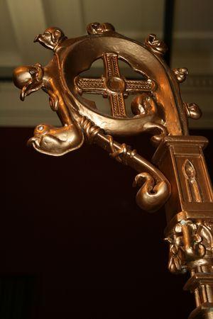 sceptre: bishops sceptre