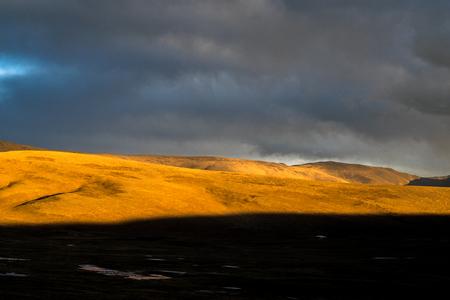 tibet: Sunset scenery in Tibet