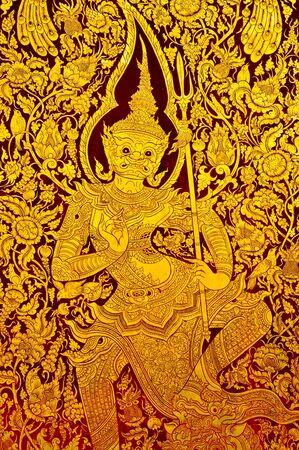 Thai Art photo