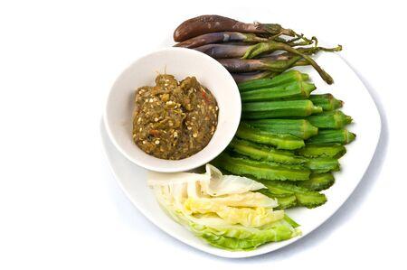 Nam pick num is thai food photo