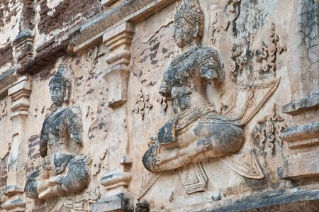 old thai art in thailand photo