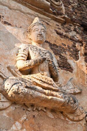 old thai art in thailand photo