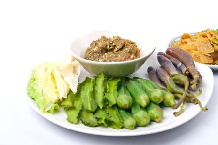 Nam pick num, thai food Stock Photo