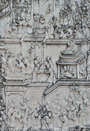 Thai art in temple Stock Photo - 13388042