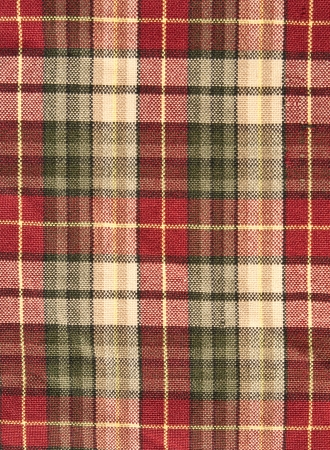 fabric plaid background in brow  photo