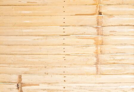 Background Texture Of A Bamboo Fence In The Tropics  photo