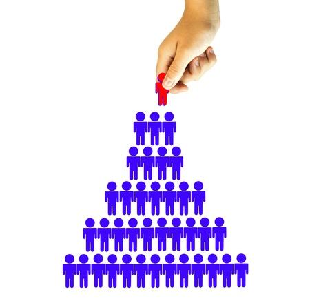 Choosing the Right Person employee for business recruitment  Standard-Bild